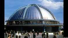 The US Steel building at the New York World's Fair, 1939
