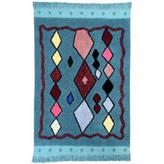 Tapis Morocco Draa de Lorena Canals chez iTao Lorena Canals, Tapis Design, Morocco, Bohemian Rug, Kids Rugs, Home Decor, Products, Outdoor Carpet, Play Gym