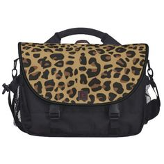 Stylish Animal Print Commuter Laptop Bag $170.00