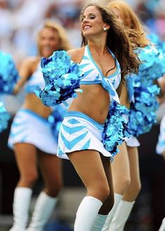 Turquoise and Black Panthers Party Streamers 10 Cheerleader Pom Pom Shakers Carolina Panthers Football Party Decorations