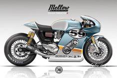 Triumph Thruxton R Phantom Blase Cb 750 Cafe Racer, Virago Cafe Racer, Triumph Cafe Racer, Cafe Racer Style, Custom Cafe Racer, Scrambler, Cafe Bike, Cafe Racer Bikes, Cafe Racer Motorcycle