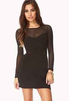 Bombshell Mesh Dress | FOREVER21 - 2000110623