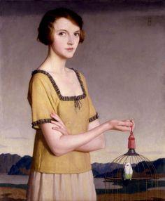 meredith frampton paintings | Meredith Frampton (1894–1984, British) ~ Blog of an Art Admirer