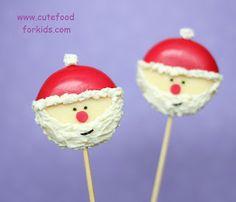 Cute Food For Kids?: Babybel Cheese Santa