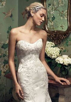 Browse the latest collections of Casablanca Bridal wedding dresses & gowns. Search by silhouette, price, color, neckline, & more. Find your dream dress. Size 18 Wedding Dress, Fit And Flare Wedding Dress, Bridal Wedding Dresses, One Shoulder Wedding Dress, Bridal Style, Casablanca Bridal Gowns, Illusion Neckline Wedding Dress, Designer Wedding Gowns, Formal Dresses For Weddings