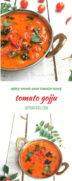A spicy sour and sweet curry made using cherry tomatoes, a delicious accompaniment to plain rice. A perfect recipe for a lazy day!