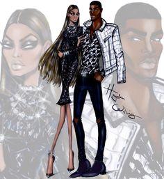 Hayden Williams Fashion Illustrations: 'Black Excellence' by Hayden Williams