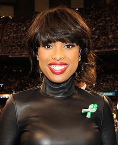 Jennifer Hudson performed at the Super Bowl 2013 at Superdome in New Orleans on 2/3/13