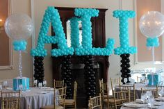 Tiffany Name in Balloons Tiffany Name in Balloons Sculpture