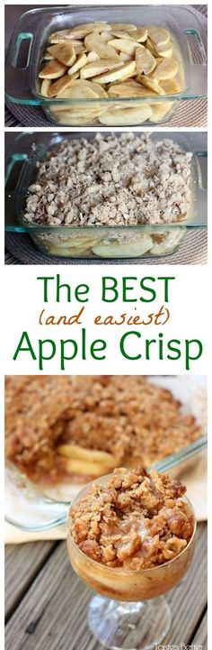Apple Crisp | Gurman chef