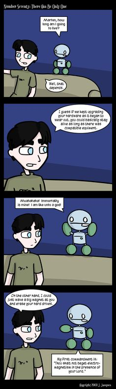 Questionable Content: There can be only one