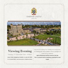 Darver Castle - Contact Us On Your Wedding Day, Dream Wedding, Brewing Tea, Countryside, Dreaming Of You, Tuesday, Wedding Venues, How To Memorize Things, Wedding Planning