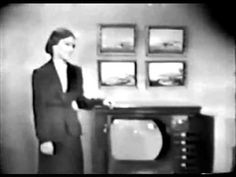 DUMONT TELEVSION TV SET COMMERCIAL - 1950 - YouTube