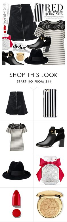 """Rock concert"" by vanjazivadinovic ❤ liked on Polyvore featuring MICHAEL Michael Kors, Ted Baker, Gucci, Victoria's Secret, Rodin, Christian Dior, polyvoreeditorial and twinkledeals"