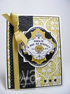 Vintage Verses - Wishing You a Day by Yvette - Cards and Paper Crafts at Splitcoaststampers
