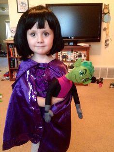 Tiny Raven cosplay