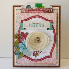 A Stash of Pretty Paper: More My Creative Scrapbook July 2013 Limited Edition Kit: Webster's Pages Plum Seed