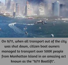 September 11 Boat lift