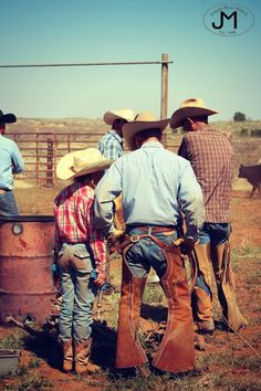 Texas Cowboys - Daughters - Branding - Ranch Life - Tongue River Ranch