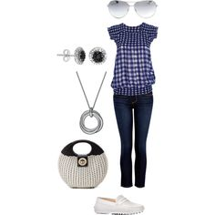 """Gingham"" by jossiebristow on Polyvore"