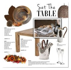 Set the Table I by viva-12 on Polyvore featuring interior, interiors, interior design, home, home decor, interior decorating, Vietri and setthetable