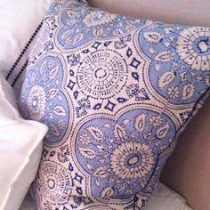 John Robshaw pillow, possibility for table skirt