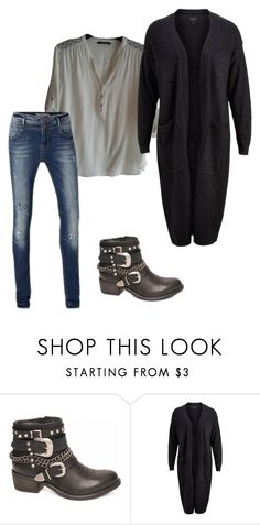 """""""20-02-2016 Saturday"""" by kaatje60 on Polyvore featuring mode, Vero Moda, SELECTED, women's clothing, women, female, woman, misses en juniors"""