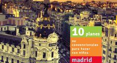 10 planes molones para hacer con niños en Madrid: deporte, música, comida, moda, magia, juegos...