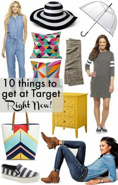10 Things to get at Target Right Now!