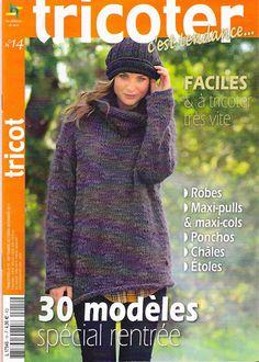 Tricoter c'est Tendences N°14 - barto bodoq - Picasa Albums Web