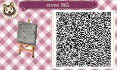ACNL QR Code: Snow & Dirt Stones
