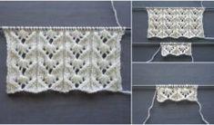 Ajurlu Tomurcuklar Örgü Modeli Yelek Hırka Modeli Knitting For Kids, Baby Knitting Patterns, Knitting Designs, Elo 7, Crochet Baby Booties, Knit Vest, Lana, Crochet Necklace, Handmade