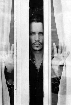 Here's looking at you, Mr. Depp!