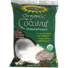 Let's Do...Organics Shredded Coconut ( 12x8 Oz)