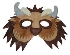OSO POLAR sentía máscara para niños por MagicalAttic en Etsy