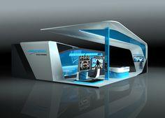 Northrop Grumman stand design