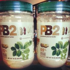 Trying to cut calories but LOVE peanut butter? Try pb2! 25% less calories than peanut butter. Mix with water for a peanut butter replacement or add to your favorite protein shake. Now in a ONE POUND container!
