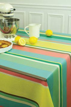 Nappe coton Jean-Vier Mauléon Sixties - Cotton tablecloth Jean-Vier Mauléon Sixties  >> http://www.jean-vier.com/