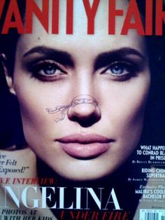 Teenage Mutant Ninja Noses - Angelina Jolie- Wall to Watch