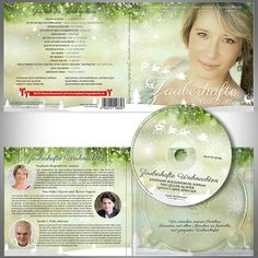 Create a beautiful christmassy Cd cover (4 sides) and disc label by ssrihayak