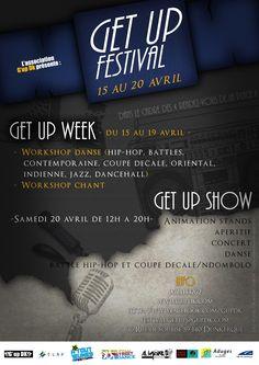 Get up festival : Une semaine dédiée à la danse et aux chants à Dunkerque du 15 au 20 avril #hiphop #dunkerque #danse #chants #gupdk #jeunesse #atj13