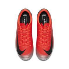 Chaussures football Nike Mercurial Vapor XII Academy CR7 MG Rouge Junior 739d6f1b5967