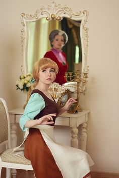 Find images and videos about disney, cosplay and cinderella on We Heart It - the app to get lost in what you love. Disney Princess Cosplay, Cinderella Cosplay, Princess Costumes, Disney Costumes, Cool Costumes, Cinderella Princess, Amazing Cosplay, Best Cosplay, Cosplay Outfits