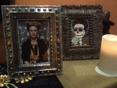"Sneak peek of ""Day of the Dead: Art of Dia de Los Muertos"" exhibit opening Sept. 24:  an altar honoring Frida Kahlo by John Huerta. See more of John's work at JohnHuertaArte.com"