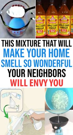 This Mixture That Will Make Your Home Smell so Wonderful… Your Neighbors Will Envy You - Home Gardenist Homemade Air Freshener, Natural Air Freshener, Homemade Febreze, Homemade Toilet Cleaner, House Smell Good, House Smells, House Cleaning Tips, Cleaning Hacks, Cleaning Solutions