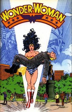 Wonder Woman #3, April 1987, cover by George Perez
