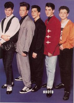 NKOTB i had this poster and 91 others haha