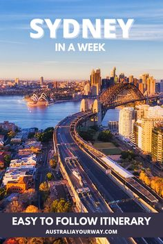 Seven Days in Sydney: An Itinerary for Your First Visit - Australia Your Way Visit Australia, Sydney Australia, Western Australia, Australia Travel, Cities In Wales, Sydney Beaches, Sydney City, New Zealand Travel, Plan Your Trip