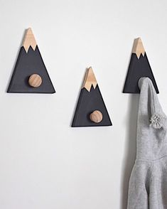 Woodland mountain themed baby boy nursery The post Wall Hooks for Kids Mountain Wall Hook Mountain Peak Coat Hook Adventure Nursery Decor Woodland Nursery Decor Mountain Nursery Decor appeared first on Children's Room. Baby Boy Nurseries, Baby Boy Rooms, Baby Room, Toddler Rooms, Baby Girls, Mountain Nursery, Adventure Nursery, Woodland Nursery Decor, Forest Nursery