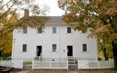 Wedding location.  The Meeting House at the Shaker Village of Pleasant Hill, KY.